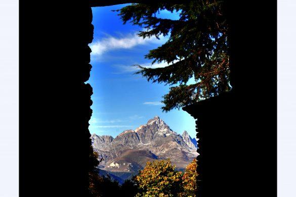 la finestra sul Viso