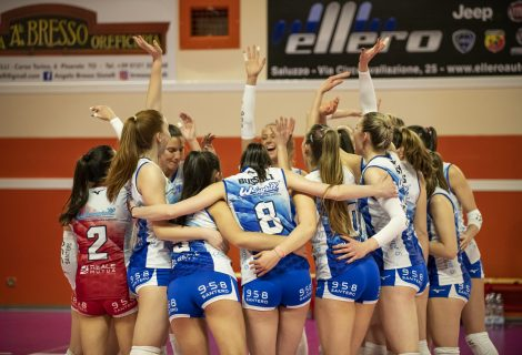 Volley A2: l'Eurospin Ford SARA Pinerolo vola ai Play Off