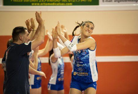 Volley A2 femminile – Pinerolo vince e convince contro Marsala e va in semifinale